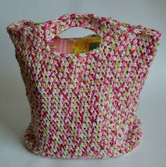 Dynamite Market Bag: free pattern ✿Teresa Restegui http://www.pinterest.com/teretegui/✿