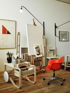 VitraHaus + Artek with Studio Ilse Collboration - a loft apartment for a fictional couple, Harri and Astrid