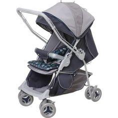 Carrinho de Bebê Galzerano Maranello Azul, pratico, seguro e confortável.    Carrinho 2 em 1: função berço e função passeio.