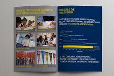 Roxbury Prep Brochure, an Uncommon School, designed by Sarah Bradford