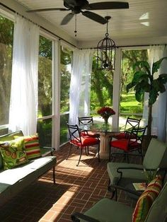 Via At Home Arkansas . Screened porches and seasonal rooms are great places to enjoy the spring, summer and fall. You can enjoy the fr...