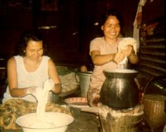 Making Fresh Rice Noodles