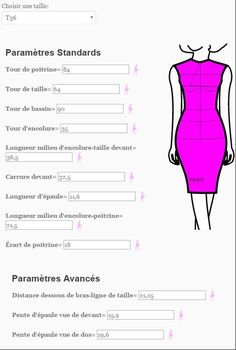 """I come to talk to you about the Body Language site. I found out thanks to Olivia """"The Reel"""" who talked about it here. This site is available in English and French. Techniques Couture, Sewing Techniques, Sewing Hacks, Sewing Tutorials, Sewing Tips, Clothing Patterns, Sewing Patterns, Dress Patterns, Maxi Dress Tutorials"""