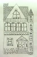 """Painted Ladies"" : Drawing Victorian Homes"