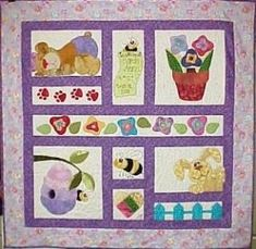 Baby quilt by suzanne