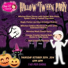 Enter to win a ticket to Glama Gal's Hallow 'Tween Party from That's What She Said. #Halloween #giveaway