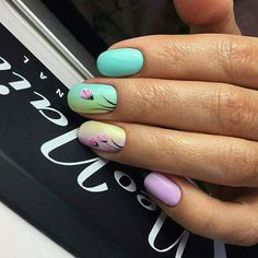 Pink and white nails are perfect if you are going for the feminine-chic look. Try one of these pink and white nail designs today! Round Nail Designs, Gel Nail Art Designs, Flower Nail Designs, Perfect Nails, Gorgeous Nails, Pretty Nails, Hair And Nails, My Nails, Classic Nails