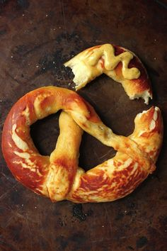 Perfectly Soft and Chewy Soft Pretzels - these are so simple to make at home and everyone loves them!!!