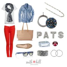 www.southhilldesigns.com/erciparroquin  Página de Facebook:  South Hill Designs… South Hill Designs, Go Pats, Super Bowl, Color Blocking, Looks Great, Jewelry Design, Casual, Cute, How To Wear