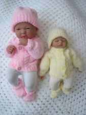 Dolls Knitting Pattern Premature Baby 2-5lb #33