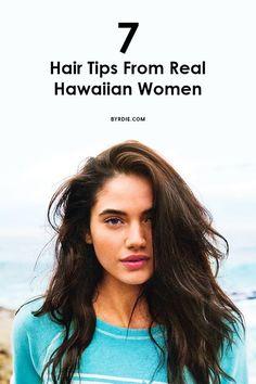 Byrdie | Hawaiian Women Share Their Hair Care Secrets