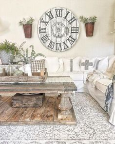 32 Gorgeous French Farmhouse Living Room Design Ideas - Home Professional Decoration