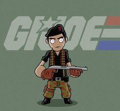 Flint - G.I. Joe - Mike Van Wyhe