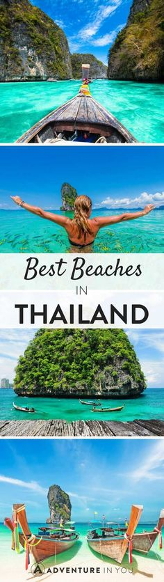 Thailand Beaches | Explore some of the best beaches in Thailand. From popular islands like Koh Tao and Koh Phi Phi to more remote and secluded off the beaten path places. Take a look at the best of what Thailand can offer.