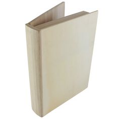 """$5.49 Could use these """"ArtMinds® Wooden Book Box"""" for that travel keepsake box project!"""