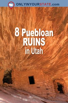 Travel | Utah | Attractions | Sites | Explore | Unique | Things To Do | Ruins | Rocks | Picturesque | History | Photography