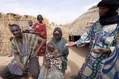 West Africa Food Crisis: Lily Roots by Christian Aid Images, via Flickr