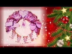 DIY/TUTO de Noël comment faire une couronne de Noël facilement^^