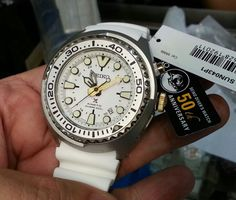 Seiko Prospex GMT Kinetic Tuna SUN043 50th Anniversary Special Edition