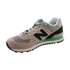 f110a3ceb New Balance - Men s 574 Day Hiker Lifestyle Sneaker - Grey Green