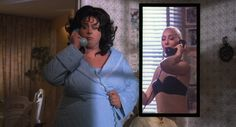Divine (as Francine Fishpaw) and Mink Stole (as Sandra Sullivan) from John Waters' Polyester, 1981 Stiv Bators, Tab Hunter, Mink Stole, John Waters, Other Woman, Hilarious, Funny, Films, Movies