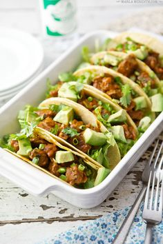 Thai Steak Tacos