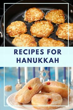 You'll love our 15 different latke recipes and plenty of donuts and other fried . You'll love our 15 different latke recipes and plenty of donuts and other fried foods! Feliz Hanukkah, Hanukkah Food, Hanukkah Meals, Hanukkah 2017, Happy Hannukah, Hanukkah Celebration, Passover Recipes, Jewish Recipes, Hanukkah Recipes