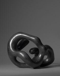 Black - sculpture - Dorothée Loriquet