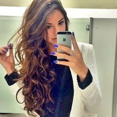 Get beautiful wavy hair, or gorgeous deep wave hair with Remy Clips clip-in hair extensions! Visit us now to order a color sample to find the perfect match! www.remyclips.com