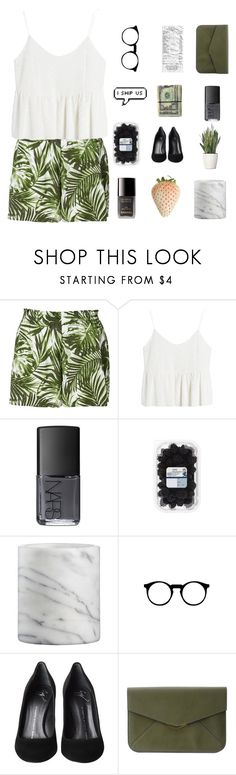 """""""Corfu"""" by xthe-red-queen ❤ liked on Polyvore featuring Chanel, NARS Cosmetics, Crate and Barrel, Giuseppe Zanotti, Fendi and PLANT"""