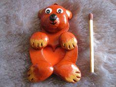 Mały Miś 7cm Materiał glina Carrots, Carrot