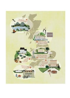 Anne Smith - UK map