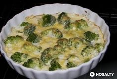 Sajtos brokkoli