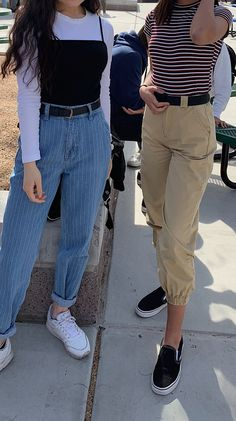 womensfashion streetstyle cargopants aesthetic fashion stripes clothes school fits fit school fitsYou can find Skater girl outfits and more on our website Skater Outfits, Tomboy Outfits, Cute Casual Outfits, Teen Fashion Outfits, Teenager Outfits, Mode Outfits, Retro Outfits, Fashion Kids, 90s Fashion Grunge