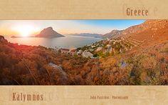 Μασούρι, ηλιοβασίλεμα με φόντο την όμορφη Τέλενδο - Masouri, sunset view Greece, Explore, Mountains, Nature, Travel, Life, Beauty, Greece Country, Naturaleza