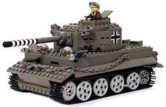 LEGO 'sherman tank'