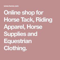 0e043ffdfde Online shop for Horse Tack
