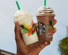 Pin for Later: These Starbucks Mini Frappuccinos Are Under 150 Calories
