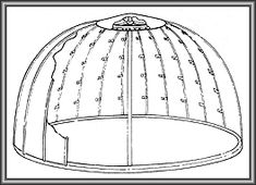 Hemispherical Dome Roofs - DeMuth Steel Products, Inc. Masonry Construction, Ed Wood, Brown Derby, Roll Forming, Roof Installation, Tower Of Terror, Building Structure, Galvanized Steel, Paint Finishes
