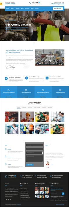 Factory Plus is the best responsive 9in1 #WordPress Theme #webdesign for some sectors like #industry, Factories, Construction, Engineering, Machinery Business, Commodity Business, Power, Rail Business, Airplane, Ship Business, Oil & Gas Business, Petroleum websites download now➩ https://themeforest.net/item/avonmore-premium-creative-multipurpose-wordpress-theme/17364678?ref=Datasata