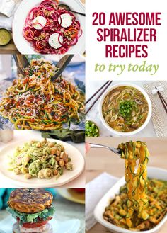 20 Awesome Spiralizer Recipes To Try Today