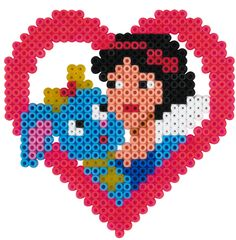 Snow White - Palace Pets Hama beads - 7987 HAMA