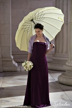 Fall/winter colors...Plum, lavender and ivory