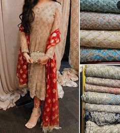 Buy Wedding Designer Outfits And Suits in Cheapest Prices with Standard Quality. Call/ WhatsApp us 77164 Pakistani Formal Dresses, Wedding Dresses For Girls, Pakistani Dress Design, Pakistani Outfits, Indian Dresses, Punjabi Suits Designer Boutique, Indian Designer Suits, Boutique Suits, Designer Party Wear Dresses