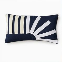 Feel Good Color | west elm Knit Pillow, Lumbar Pillow, Pillow Texture, Cushion Inserts, Geometric Pillow, Rug Sale, Recycled Fabric, Graphic Patterns, Abstract Pattern