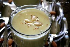 Badam Ki Dahi Recipe In Urdu - Cook in Just 15 Minutes Almond Pudding Recipe, Almond Milk Pudding, Almond Milk Recipes, Cream Recipes, Coconut Milk, Phirni Recipe, Sheera Recipe, Indian Desserts, Indian Food Recipes