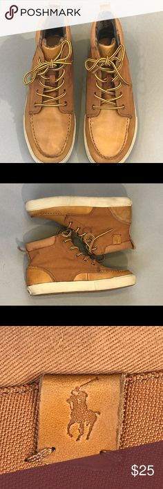 POLO Ralph Lauren Boys Ted Boot Sz 6 1/2 Good used condition. Authentic Polo Ralph Lauren Boys Shoes. Flaws pictures. Feel free to make an offer. Please check my other listings and complete an outfit! Polo by Ralph Lauren Shoes Boots