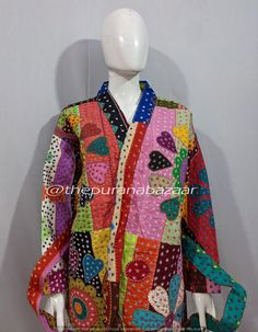 Silk Jacket, Kimono Jacket, Cotton Kimono, Silk Kimono, Cotton Bag, Woolen Scarves, Cut Work, Kimono Fashion, Palazzo Pants