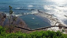 History flows through North Gong rock pool