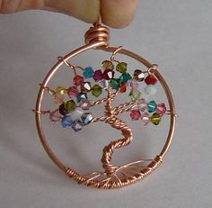 Tutorial PDF Tree of Life Pendant Detailed by queenbeebeads, $8.00